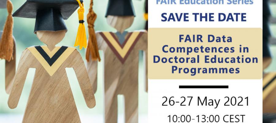 Save-the-date: FAIR data competences in doctoral education programmes