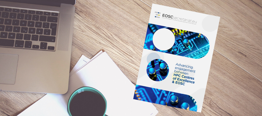 Advancing engagement between HPC Centres of Excellence & EOSC: booklet now online!