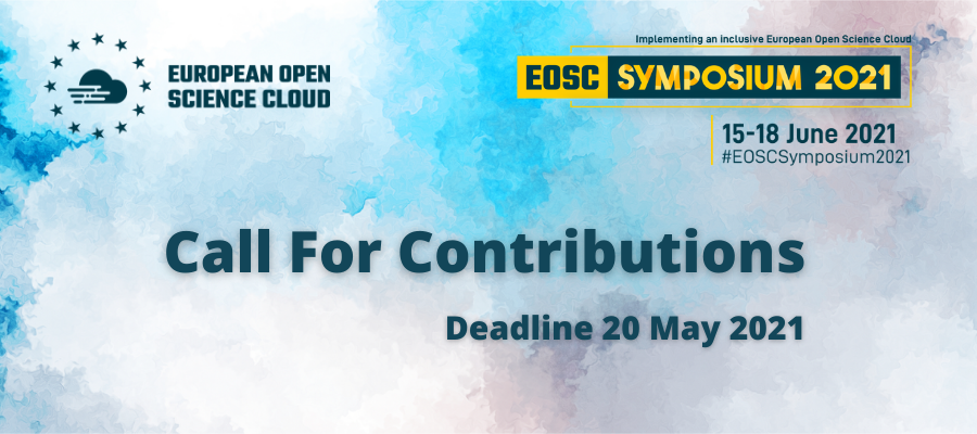 Take part in the EOSC Symposium 2021: Call for contributions