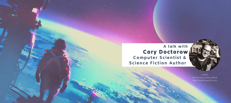 Visions, needs and requirements for Future Research Environments: An Exploration with Computer Scientist and Science Fiction Author Cory Doctorow