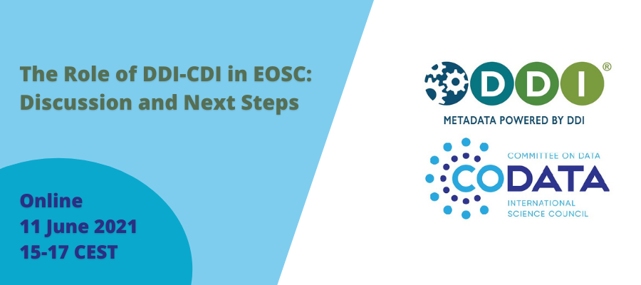 The Role of DDI-CDI in EOSC: Discussion and Next Steps