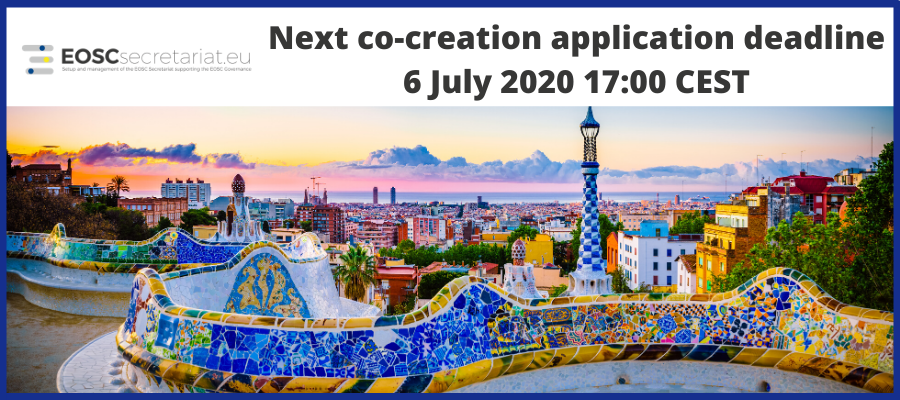 Co-creation funding opportunities - Next application deadline on 6 July 2020