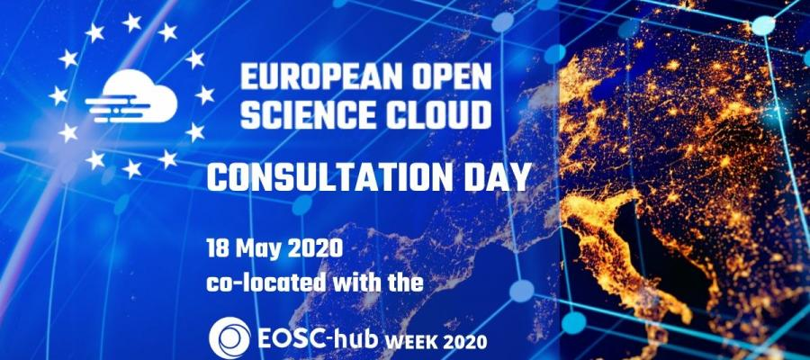 Take part in the EOSC Consultation Day on 18 May 2020