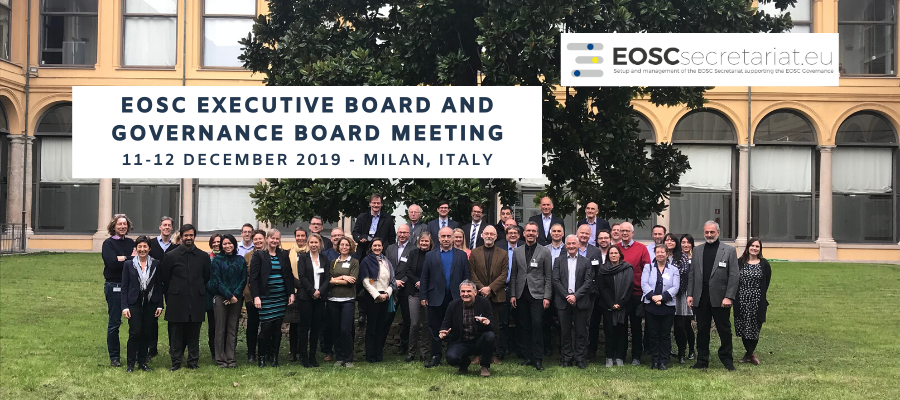 EOSC governance boards come together in Milan to move EOSC forward