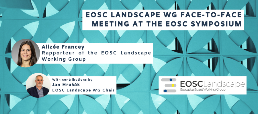 EOSC Landscape Working Group met during EOSC Symposium