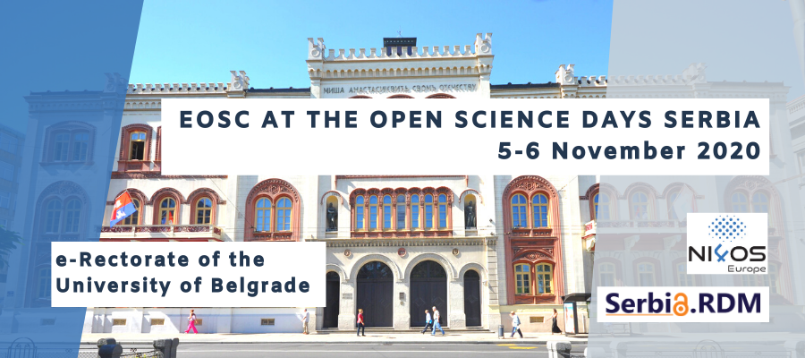 EOSC at the Open Science Days in Serbia