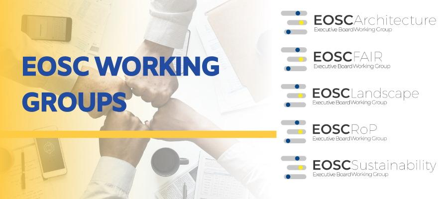 EOSC Working Groups