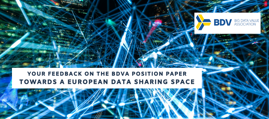 EOSCsecretariat supports BDVA in collecting feedback on position paper