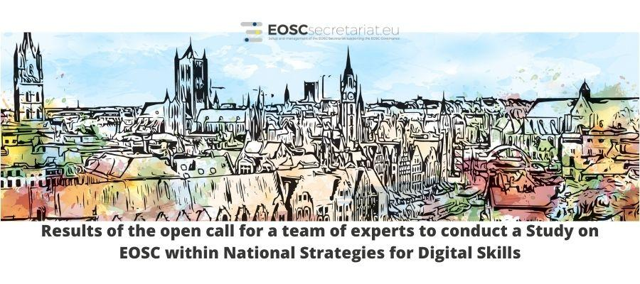 The results of the 5th Open Call - Study on EOSC within National Strategies for Digital Skills