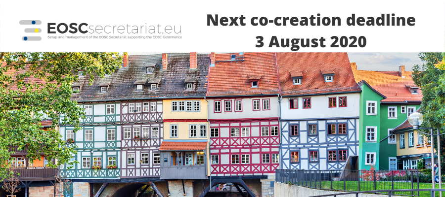 Co-creation funding opportunities - Next application deadline on 3 August 2020