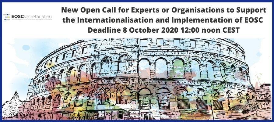 6th Open Call Launches for Support in the Internationalisation and Implementation of EOSC