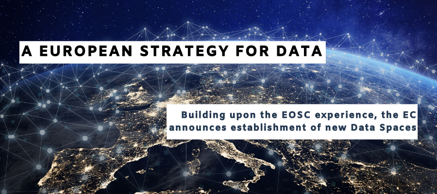 Building upon the EOSC experience, EC announces creation of nine Common European data spaces