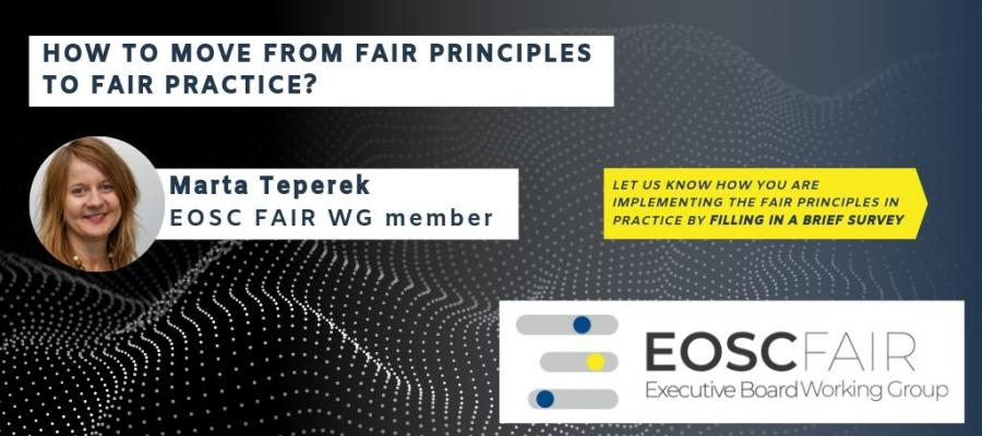 How to move from FAIR principles to FAIR practice?