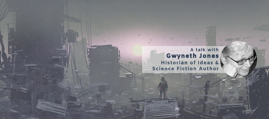 Visions, needs and requirements for Future Research Environments: An Exploration with Historian of Ideas and Science Fiction Author Gwyneth Jones