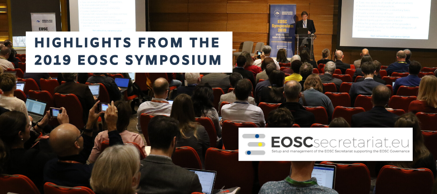 Highlights from the EOSC Symposium 2019