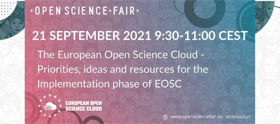 EOSC Task Force workshop at the Open Science FAIR