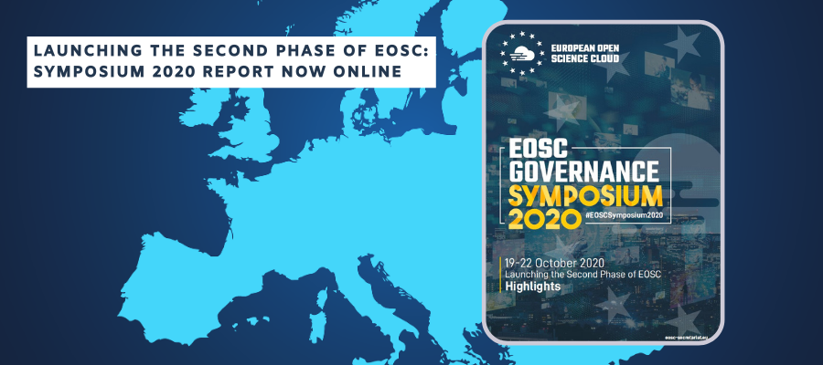 Launching the second phase of EOSC: Symposium 2020 Report now online