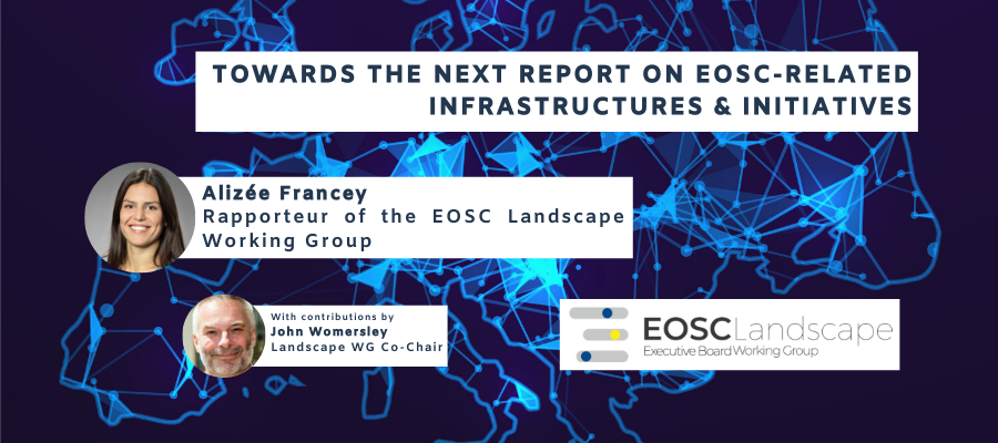 Finalising the next draft of the report of the Landscape WG into EOSC-related infrastructures and initiatives