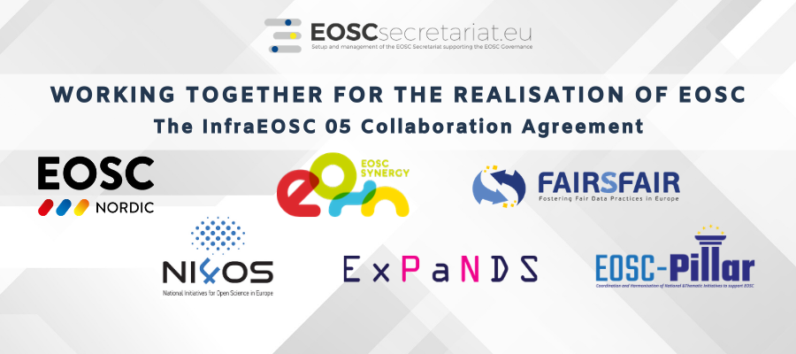 Working together for the realisation of EOSC: the infraEOSC 05 Collaboration Agreement