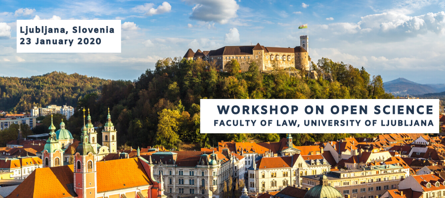 Workshop on Open Science in Ljubljana